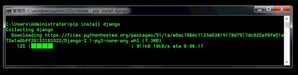 Django_install